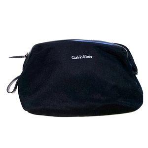 Calvin Klein travel cosmetic bag black travel case